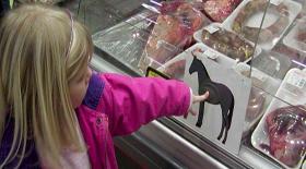 Κρέας αλόγου προς κατανάλωση, με τη σφραγίδα του προέδρου Obama…