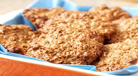 Quaker Cookies με λεμόνι & γιαούρτι