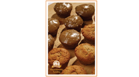 Muffin Μακεδονικού Χαλβά με Γλάσο Μακεδονικού Ταχινιού