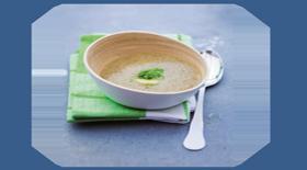 Σούπα ακτινίδιο με φρέσκο τζίντζερ από το Canderel Green