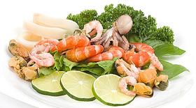 Θαλασσινά : Ανεβάζουν ή όχι την χοληστερόλη μας;