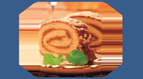 Σοκολατένια Ελβετικά ρολά από το Canderel Green