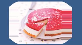 Cheesecake με φράουλα από το Canderel Green