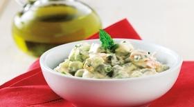 Αγγουροσαλάτα με γιαούρτι και τυρί κρέμα