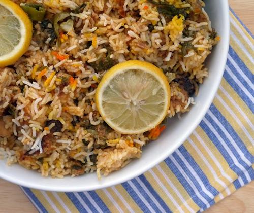 Ρύζι με δαμάσκηνα