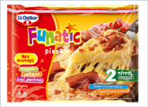 Πίτσα Funatic Ham & Bacon Dr. Oetker